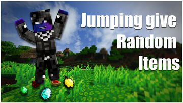 Jumping Give Random Items Minecraft Data Pack