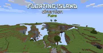 Floating Island Dimension - Plains Minecraft Data Pack