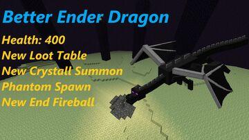 Better Ender Dragon v2.6 Minecraft Data Pack