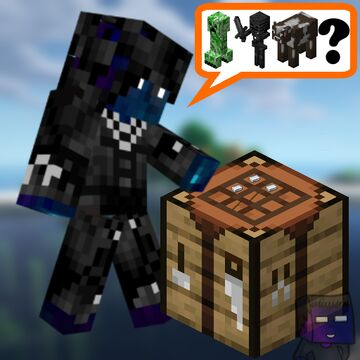 Crafting Random Mobs Minecraft Data Pack