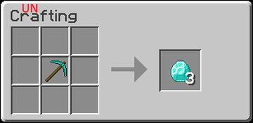 Uncrafting Minecraft Data Pack