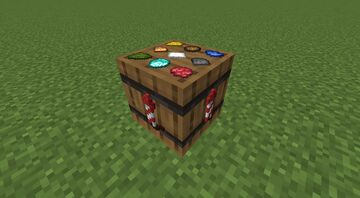 Custom firework table Minecraft Data Pack