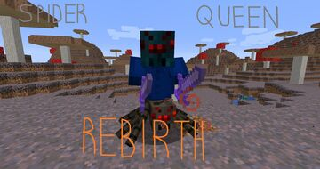 Spider Queen: Rebirth (Spider Queen Bossfight ported to 1.14 and above as a datapack.) Minecraft Data Pack
