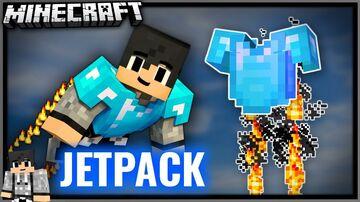BEST JETPACK DATAPACK [1.16+] Minecraft Data Pack