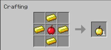 Light Golden apples Minecraft Data Pack