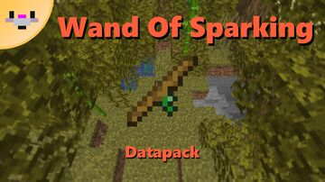 Wand Of Sparking from Terraria | Datapack 1.16 Minecraft Data Pack
