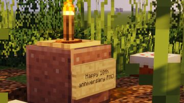 PMC10 - anniversary advancements Minecraft Data Pack