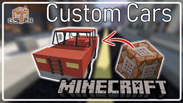 Custom Cars Minecraft Data Pack