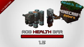 Health Bar Minecraft Data Pack