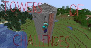 Towers of Challenges. Minecraft Data Pack
