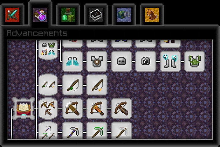 Enlightenment Collect all the enchantments on their respective items.