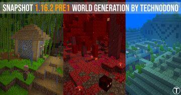 1.16.2 pre1 World Generation Datapack Template & Showcase Minecraft Data Pack