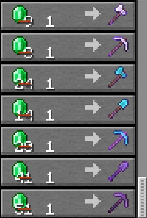 Toolsmith trades