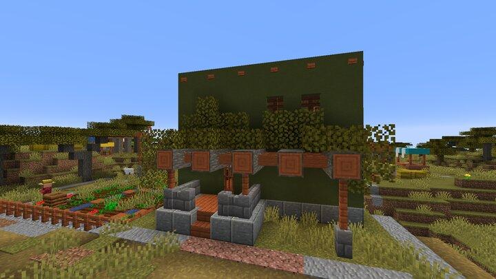 A Medium House. Very Rich Folk Live here.