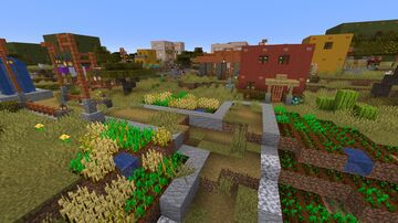 Enhanced Villages - Savanna Only  - VERSION 1.3 Minecraft Data Pack