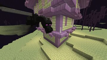 Ender Dragon Can't Destroy Outer End Islands and Shulker Boxes Minecraft Data Pack