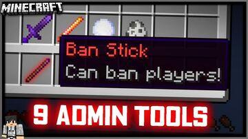 ADMIN TOOLS DATAPACK [1.16+] Minecraft Data Pack