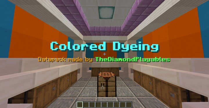 Redye dyeable colored blocks!