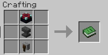 Disenchanting onto books. Minecraft Data Pack