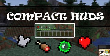 Compact HUDS - DATAPACK Minecraft Data Pack