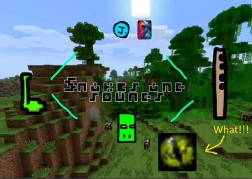 Snakes and Sounds Minecraft Data Pack