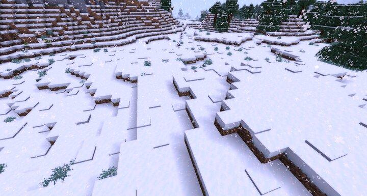 hey its snowing uwu