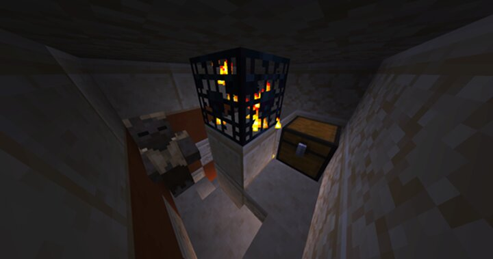 Treasure chests hide in new corners of the custom desert pyramids, should you be still unready for the boss fight.