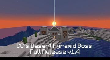 CC's Desert Pyramid Boss Full Release v1.5 Minecraft Data Pack