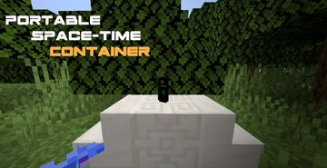 Portable Space-Time Container Minecraft Data Pack