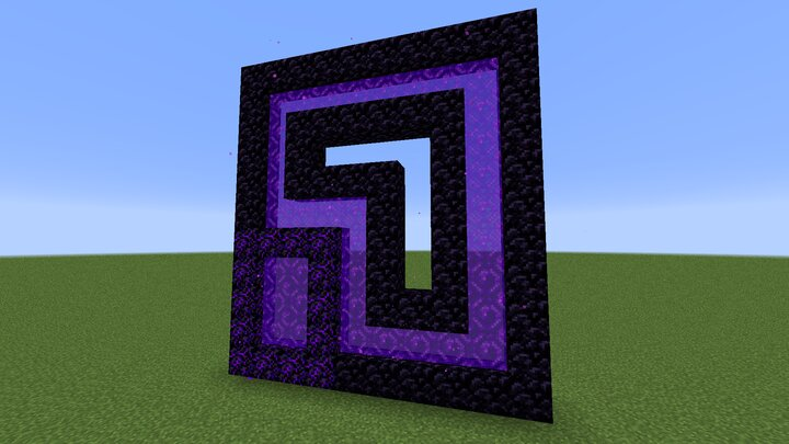 Crying obsidian portal and custom frame shapes