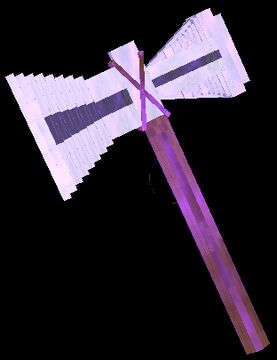 Stormbreaker Axe - Lightning, Throw, Swing, Fly, Craft! Minecraft Data Pack