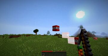 Minecraft but everywere you left click with a carrot on a stick THERE IS TNT!!!! Minecraft Data Pack