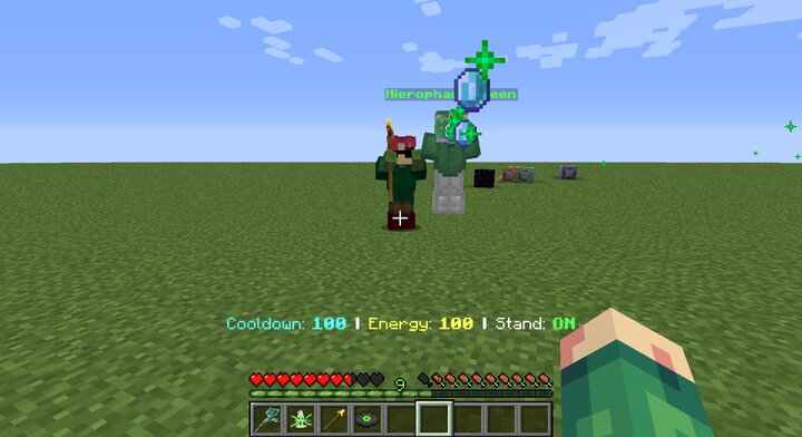 Kakyoin Zombie using Emerald Splash