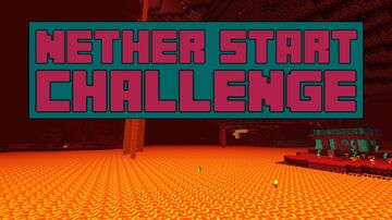 Nether Start Challenge Minecraft Data Pack