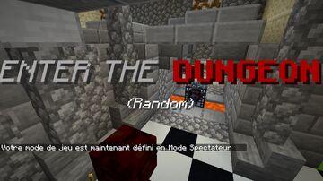 Enter the Random Dungeon Minecraft Data Pack