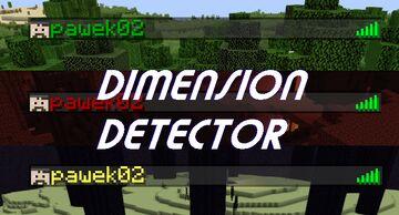 Dimension Detector Minecraft Data Pack