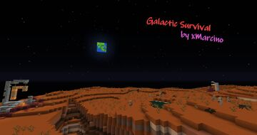 Galactic Survival Minecraft Data Pack