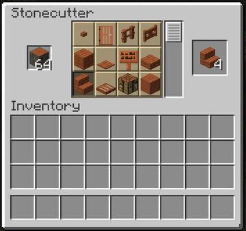 Stonecutter - Woodcutter Minecraft Data Pack
