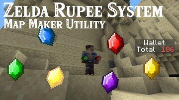 WASD Zelda Rupee System [Mapmaker Utility] Minecraft Data Pack