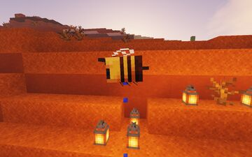 bees = sponges Minecraft Data Pack