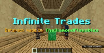 Infinite Trades[1.15x] - No Trading Limits! Minecraft Data Pack