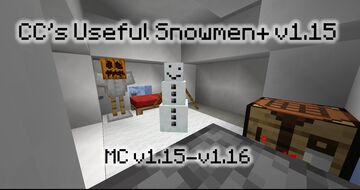 CC's Useful Snowmen+ v1.15b (MC v1.15-1.16) Minecraft Data Pack