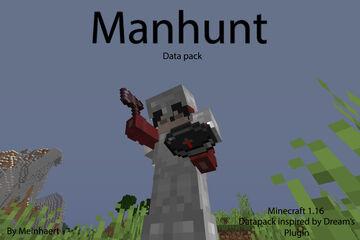Manhunt Datapack 1.16 Minecraft Data Pack