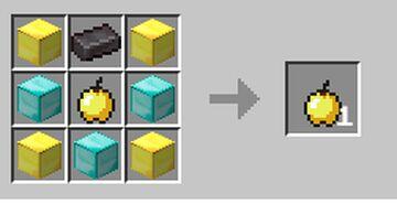 Craftable god apple Minecraft Data Pack