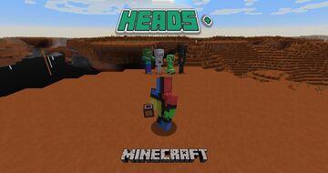 Heads Plus - Minecraft Datapack Minecraft Data Pack