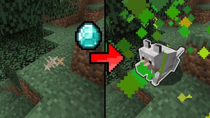 Use a diamond on a remnant to resurrect a mob