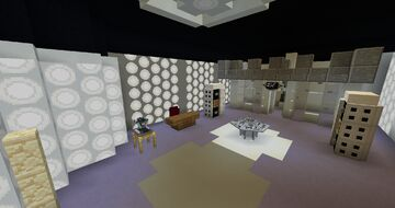TARDIS Mod 1.4 Canon Interiors Data and Resource Pack! Minecraft Data Pack