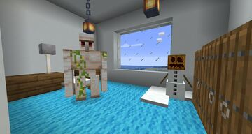Iron Golem & Snow Golem Spawn Eggs! Minecraft Data Pack