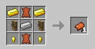 Craftable saddles and horse armors Minecraft Data Pack