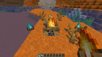 Cooking Campfires Minecraft Data Pack